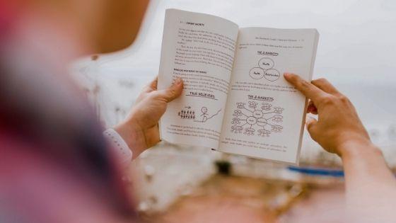 読書をする人物